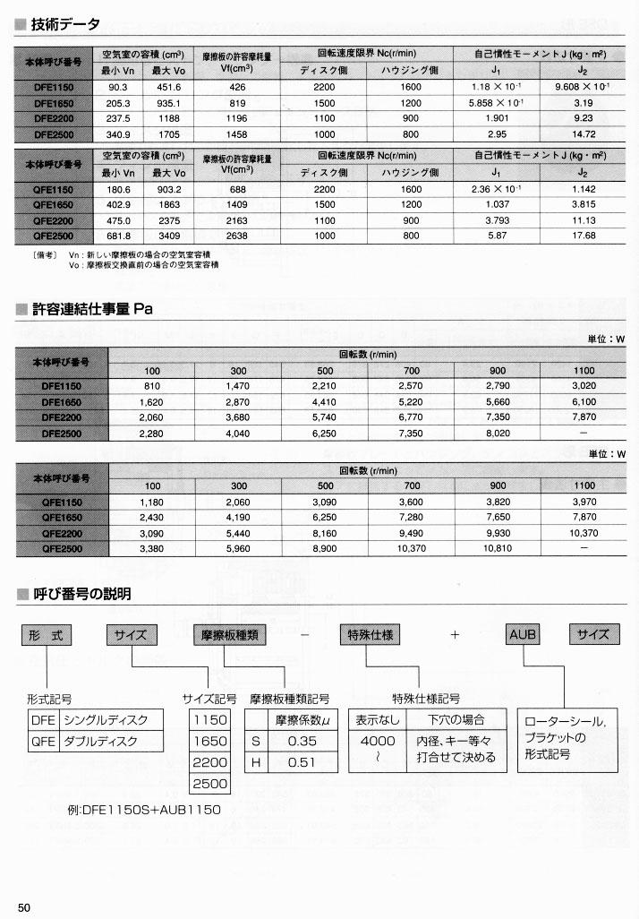 旭精工气动离合器50 nexen-asahi